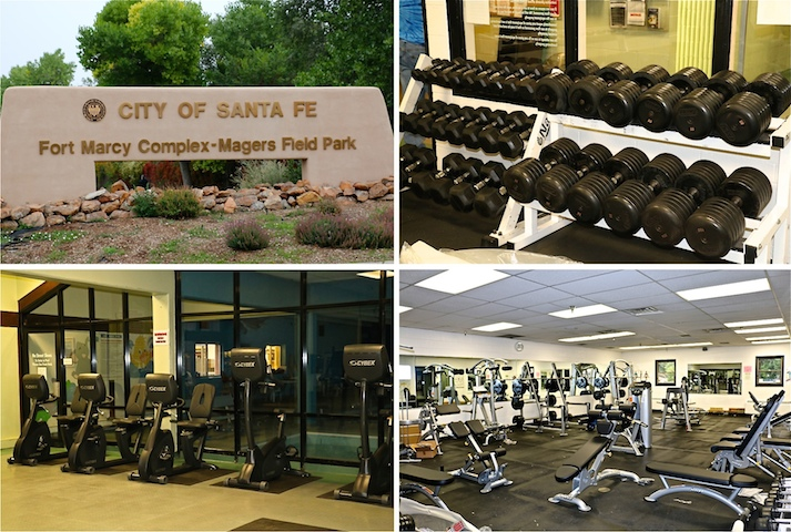 Weight Room and Workout Areas